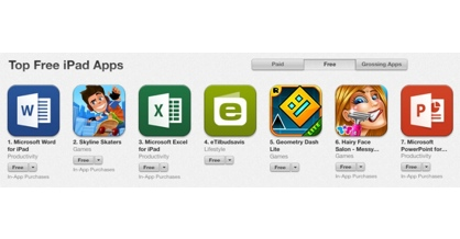 Dansk indkøbsliste-app giver Microsoft Office kamp til stregen