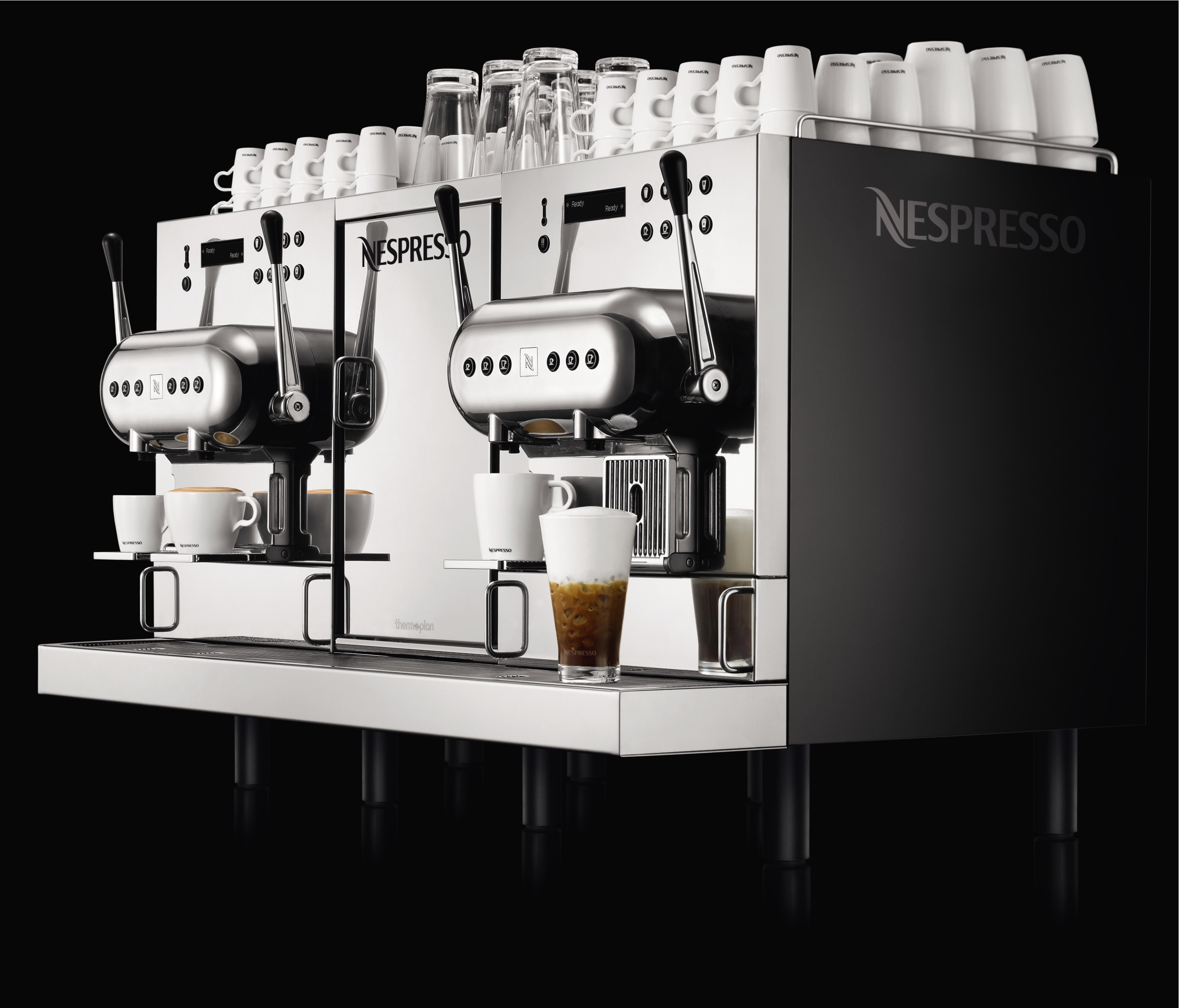 Nespresso erhverv husholdningsapparater for Nespresso firma